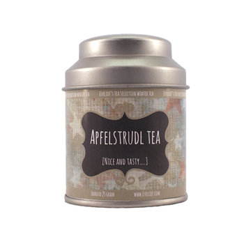 Apfelstrudl tea tin small