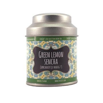Green lemon sencha