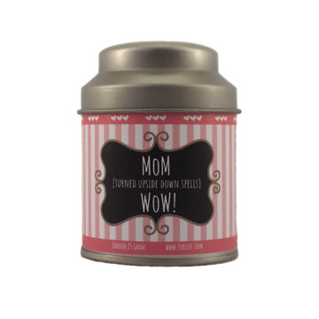 Mom [turned upside down spells] Wow