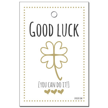 Mini card Good luck
