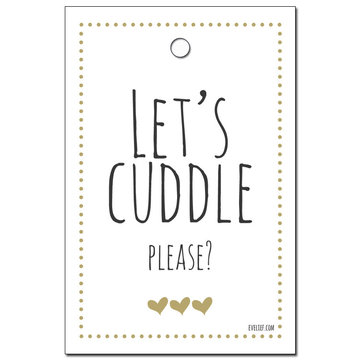 Mini card Let's cuddle