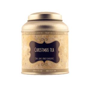 Christmas tea tin big