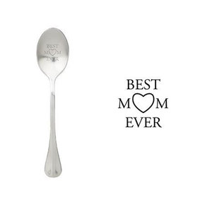 "One Message Spoon ""Best Mom Ever"""