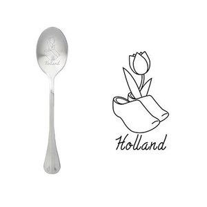 "One Message Spoon ""Holland Klomp Tulp"""
