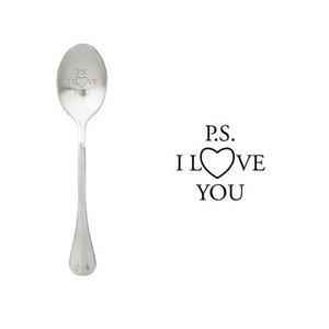 """One Message Spoon """"P.s. I love you"""""""
