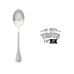 "One Message Spoon ""Ik ben trots op je"""