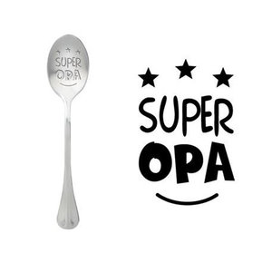"One Message Spoon ""SUPER OPA"""